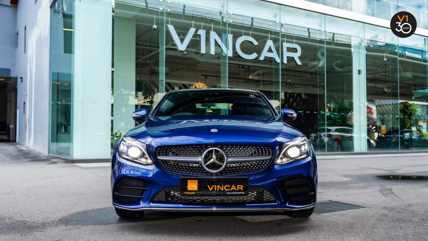 2018 Mercedes-Benz C200 Saloon AMG Premium Plus - Front
