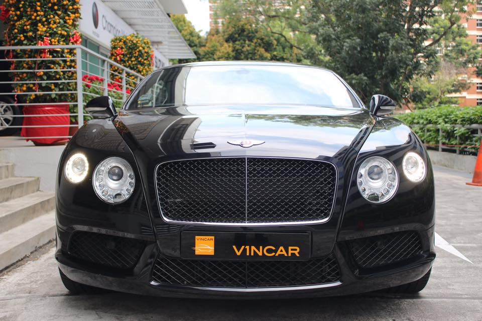 This Bentley Continental GT - Front Direct