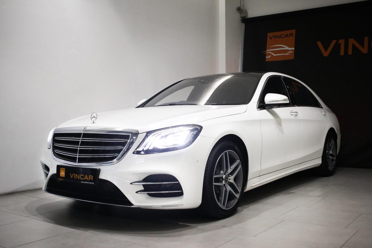 More powerful and better equipped Mercedes-Benz S320L is here!