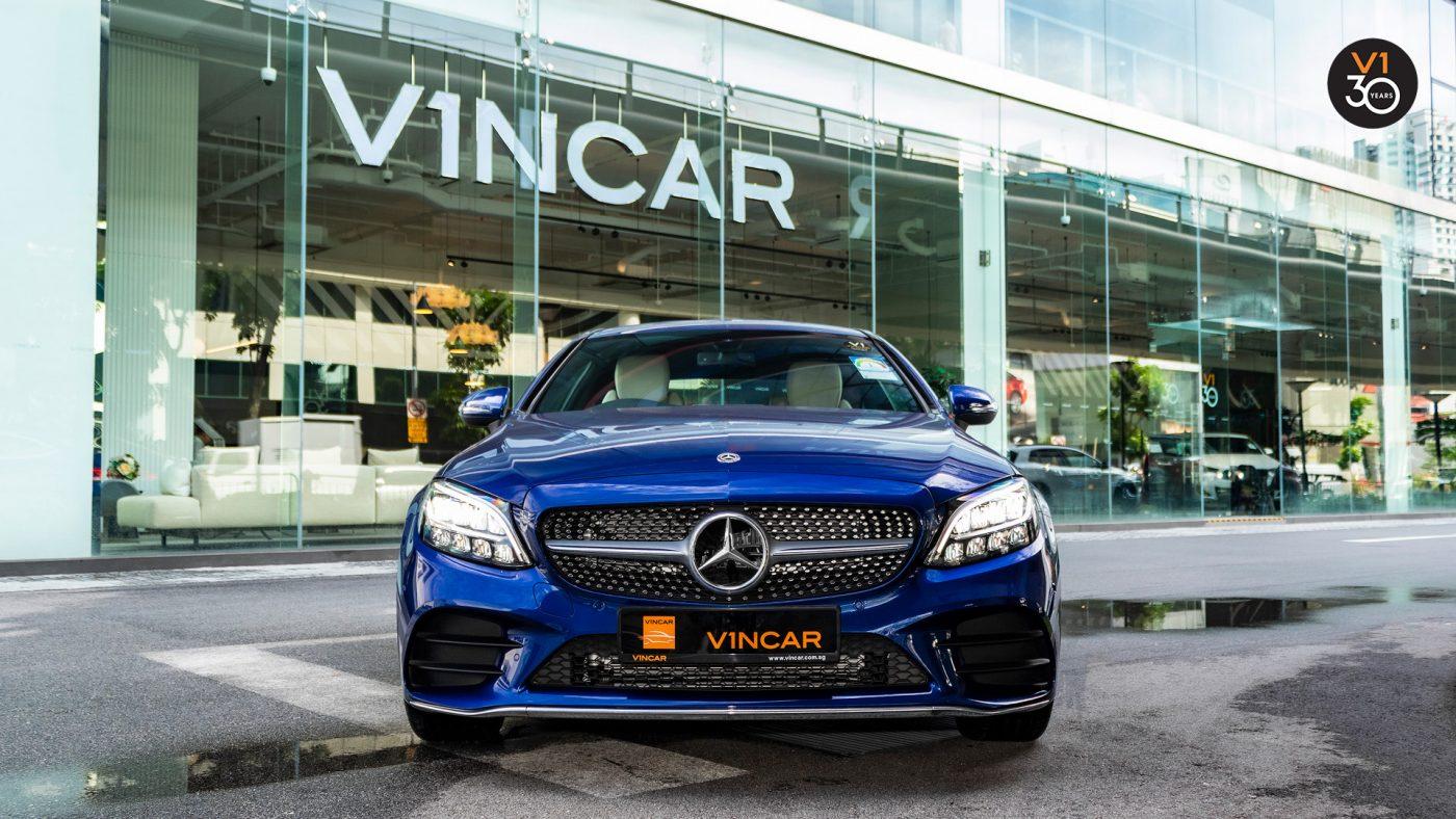Mercedes-Benz C-Class Coupe - VINCAR