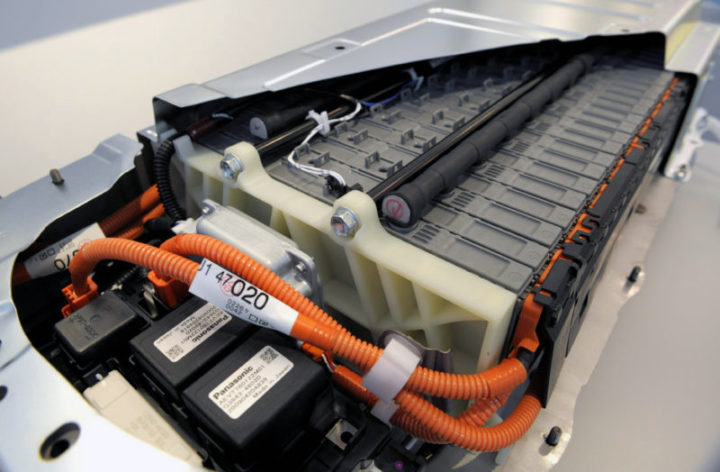 The battery pack of a third generation Toyota Prius full hybrid