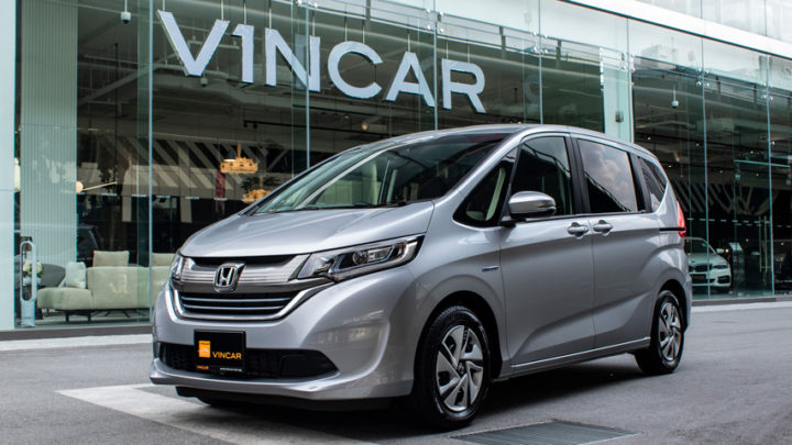 The Honda Freed is available as a full hybrid vehicle.