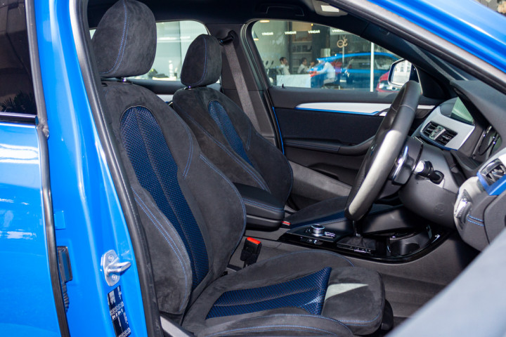 Feature Spotlight: Front Sport Seats In Micro Cloth/Alcantara Anthracite