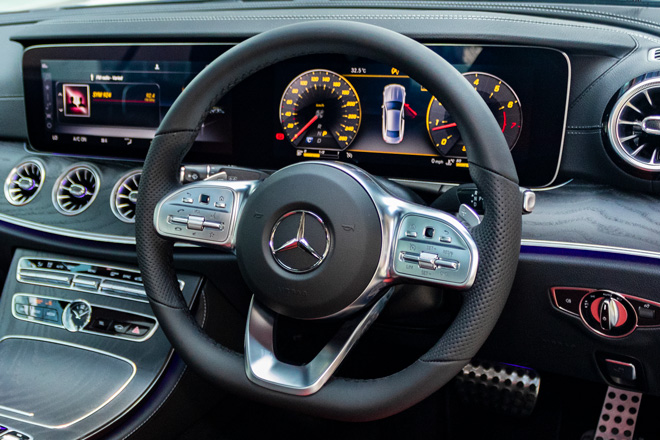 Feature Spotlight: 3-Spoke Multifunction AMG Steering Wheel
