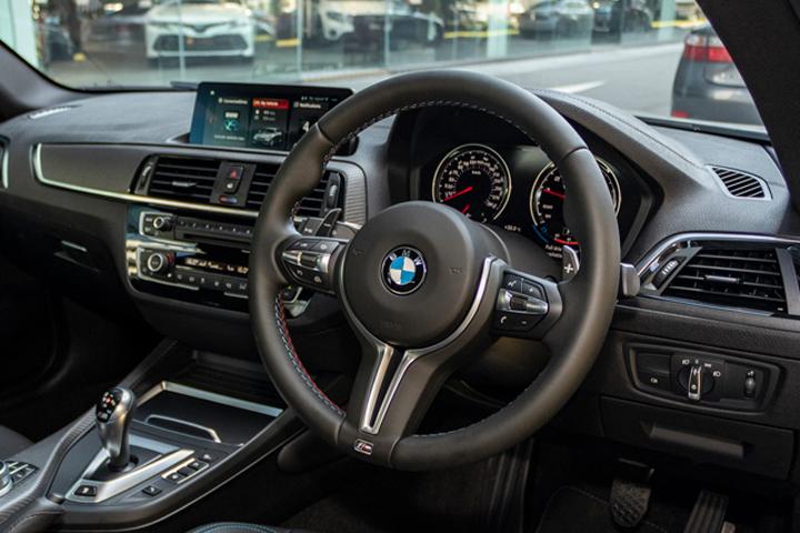 Feature Spotlight: M Multi-Function Nappa Leather Steering Wheel