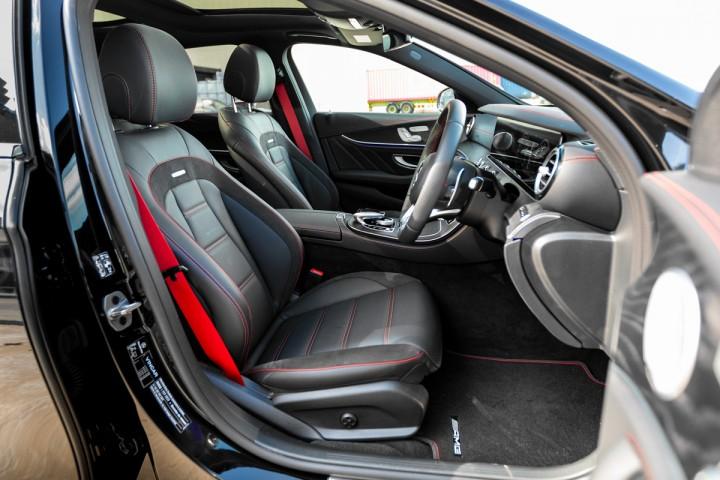 Feature Spotlight: AMG sports seats