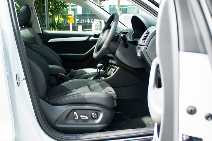Feature Spotlight: Electrically Adjustable Sports Front Seats With 4-Way Lumbar Support