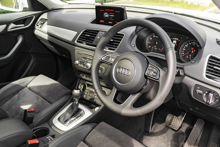 Feature Spotlight: 3-Spoke Leather-Wrapped, Multi-Function Steering Wheel, With Shift Paddles