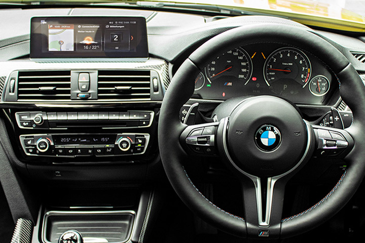 Feature Spotlight: BMW Professional Multimedia Navigation system