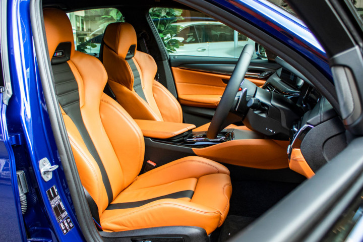 Feature Spotlight: M multi-functional Front Seats