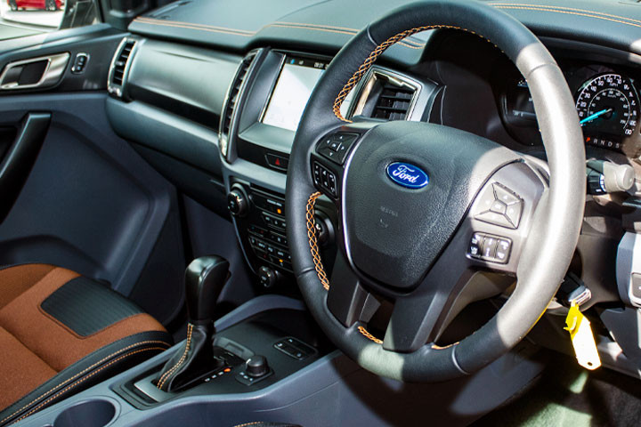 Feature Spotlight: 4-Spoke Leather Steering Wheel With Multifunction Control