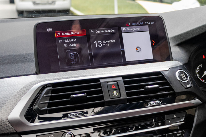 Feature Spotlight: BMW Professional navigation with 10.25? Touch Display