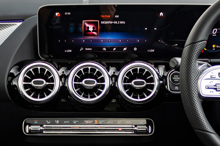 Feature Spotlight: MBUX With Twin 10.25-Inch Multimedia and Instrument Displays