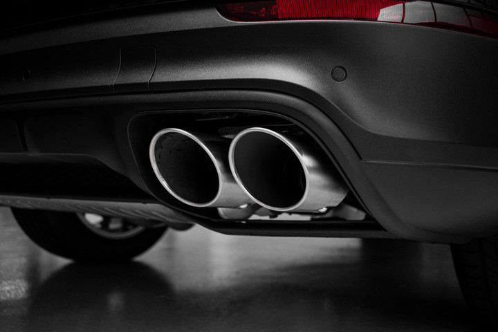 Feature Spotlight: Quad Brushed Metal Exhaust Pipes