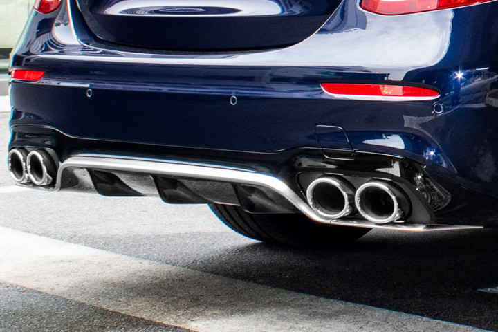 Feature Spotlight: AMG sports exhaust system