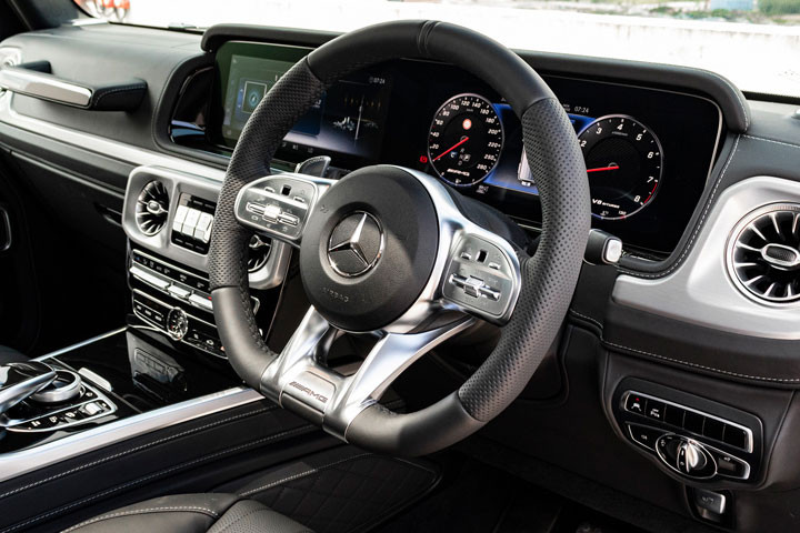 Feature Spotlight: AMG performance steering wheel - Heated - In Nappa Leather