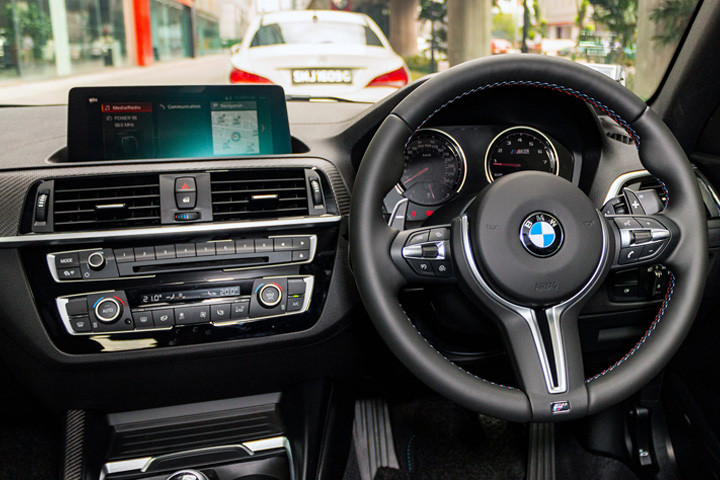 Feature Spotlight: BMW Professional Navigation  with Colour Touch Screen
