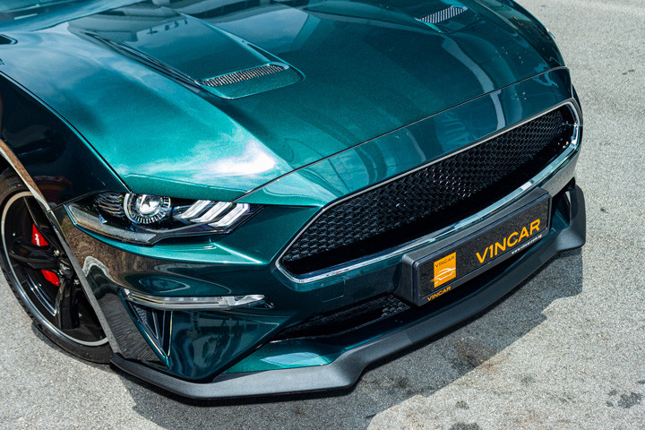 Feature Spotlight: Black unique BULLITT design without pony badge