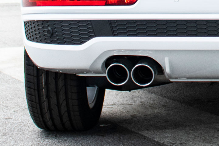 Feature Spotlight: Single Twin Chrome Exhaust Tailpipes, Left Side