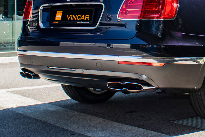 Feature Spotlight: Twin-Quad Exhaust Tailipipes