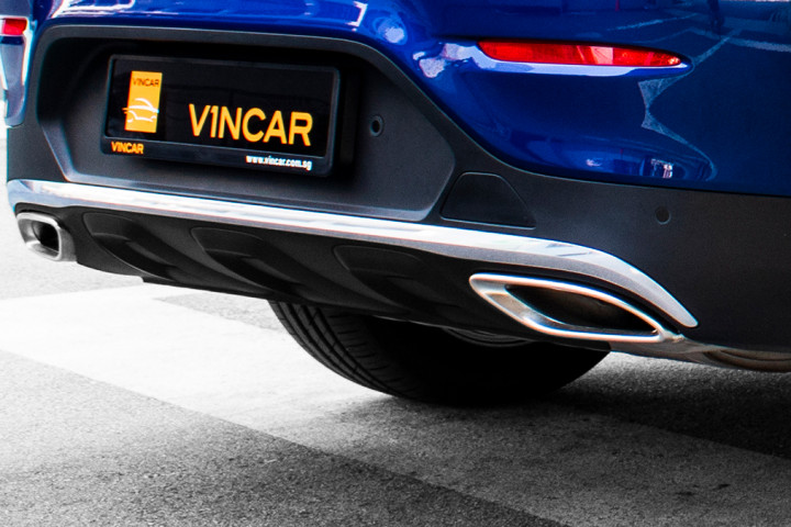 Feature Spotlight: Twin Trapezoidal Tailpipes in Polished Stainless Steel