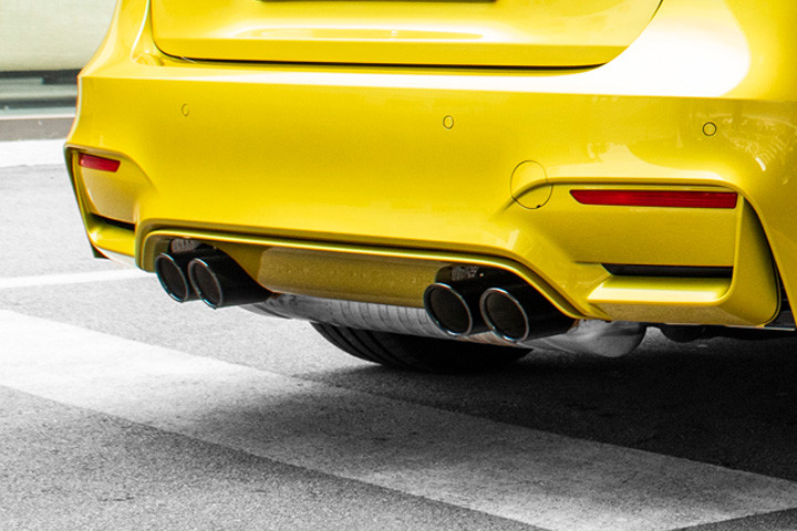 Feature Spotlight: Dual Twin, Exhaust Tailpipes