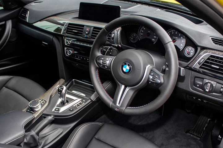 Feature Spotlight: M Multi-Function Nappa Leather Steering Wheel