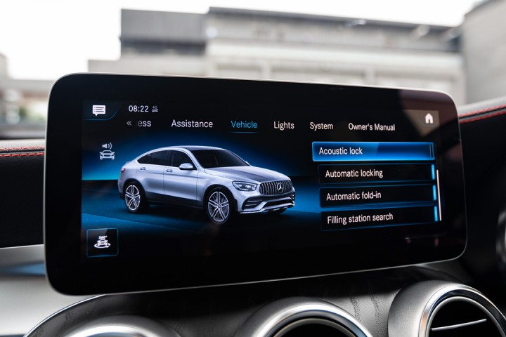 Feature Spotlight: 10.25-inch touch media display