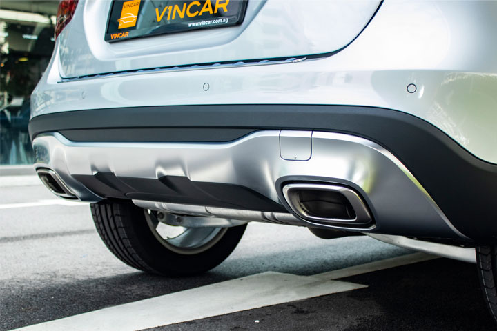 Feature Spotlight: Twin-pipe Exhaust System With Chrome Trim