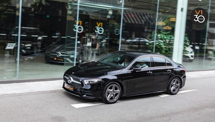 Mercedes-Benz A200 Saloon AMG Premium Plus - VINCAR Video Thumbnail