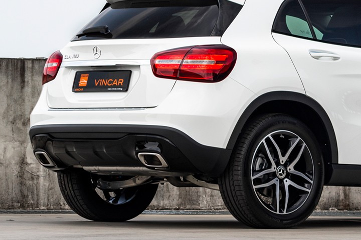 Feature Spotlight: Two-pipe exhaust system with chrome tailpipe tips