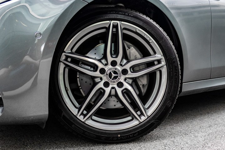 "Feature Spotlight: 19"" AMG alloy wheels"