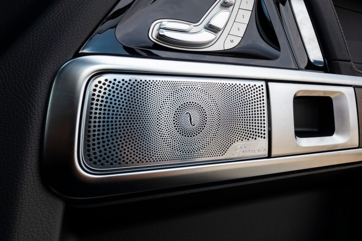 Feature Spotlight: Burmester surround sound system