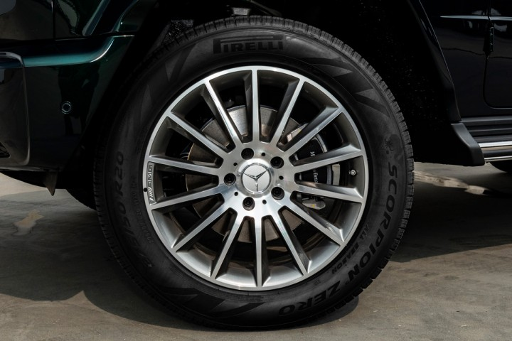 "Feature Spotlight: 20"" AMG multi-spoke light-alloy wheels"