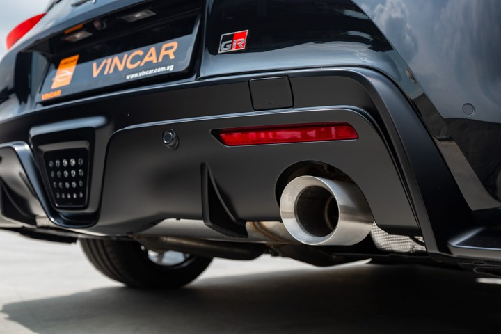 Feature Spotlight: Dual exhaust pipes