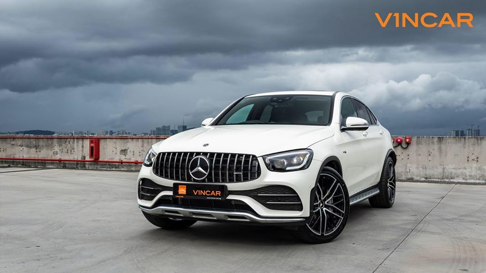 Facebook - Jan 16 2020 - Mercedes-AMG GLC43 Coupe 4MATIC Premium Plus - Front Angle