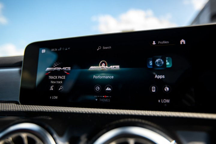 Feature Spotlight: AMG menu with sporty additional information
