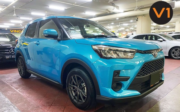 Featured image Toyota Raize SUV