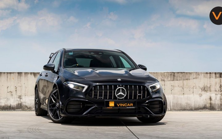 Featured image 2020 Mercedes-AMG A45 S 4MATIC+ Plus