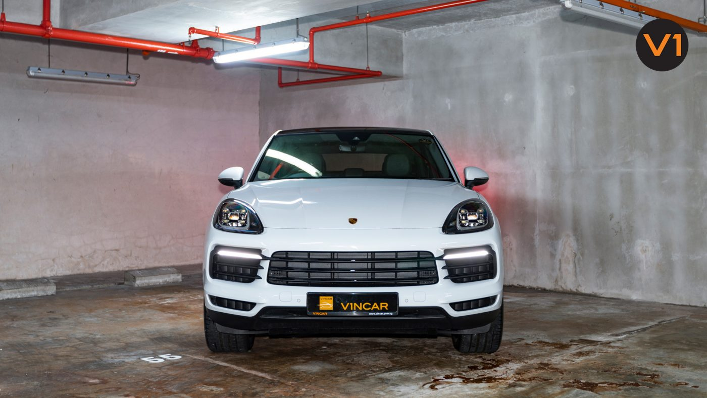 Sportier than its SUV siblings 2020 Porsche Cayenne S Coupe
