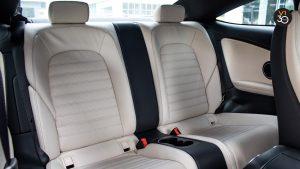 2018 C200 Coupe AMG - Back Seat