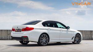 BMW 530i M Sport Saloon - Back Angle