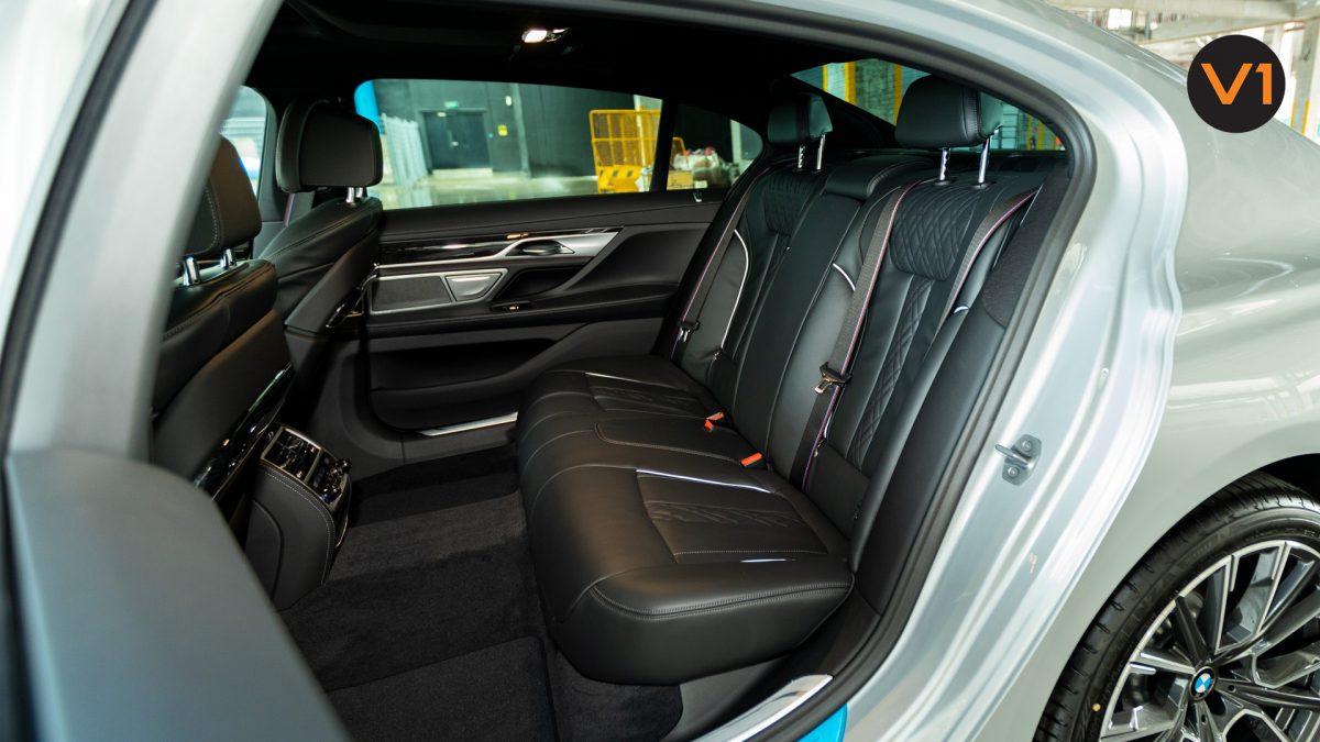 BMW 740LI M Sport Saloon - Backseat