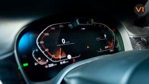 BMW 740LI M Sport Saloon - Dash Meter