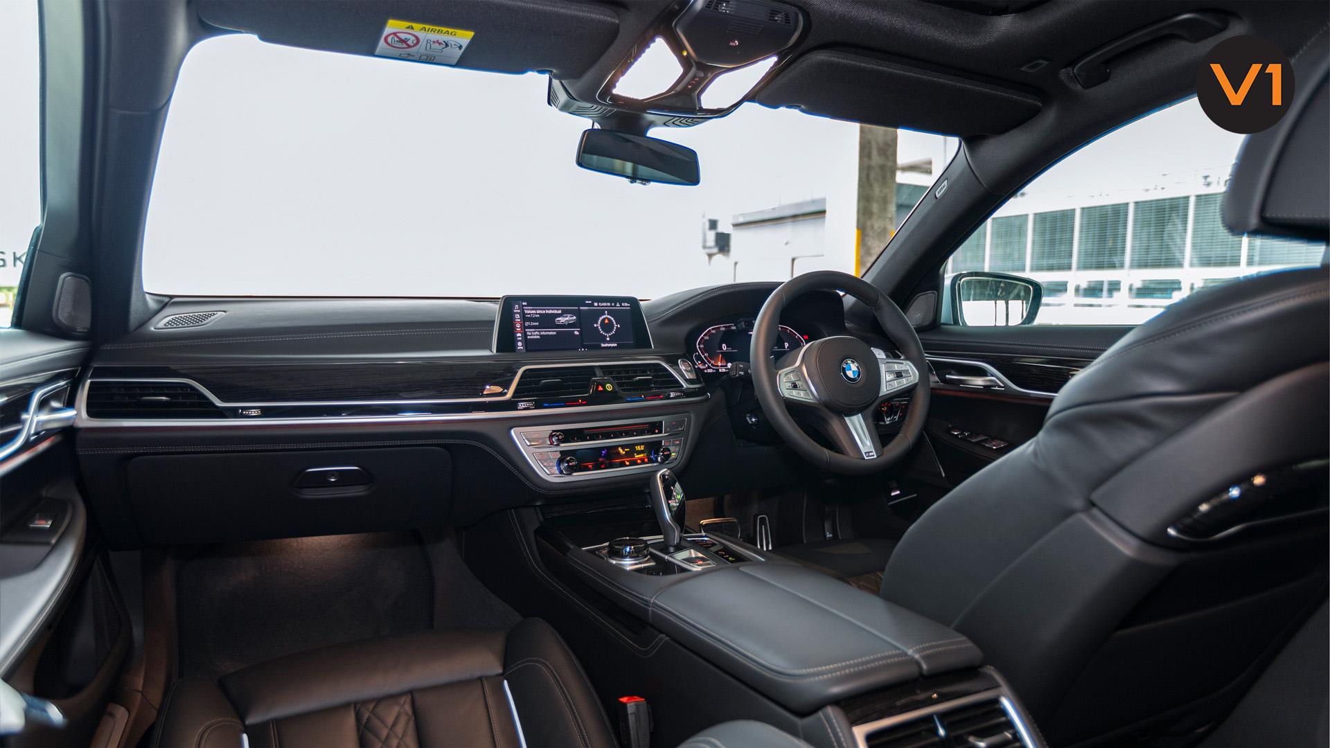 BMW 740LI M Sport Saloon - Front Interior
