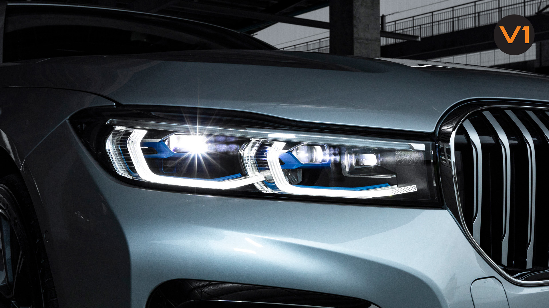 BMW 740LI M Sport Saloon - Headlamp