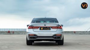 BMW 740LI M Sport Saloon - Rear Direct