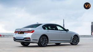 BMW 740LI M Sport Saloon - Rear Profile