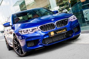BMW M5 Saloon Competition - Front Angle