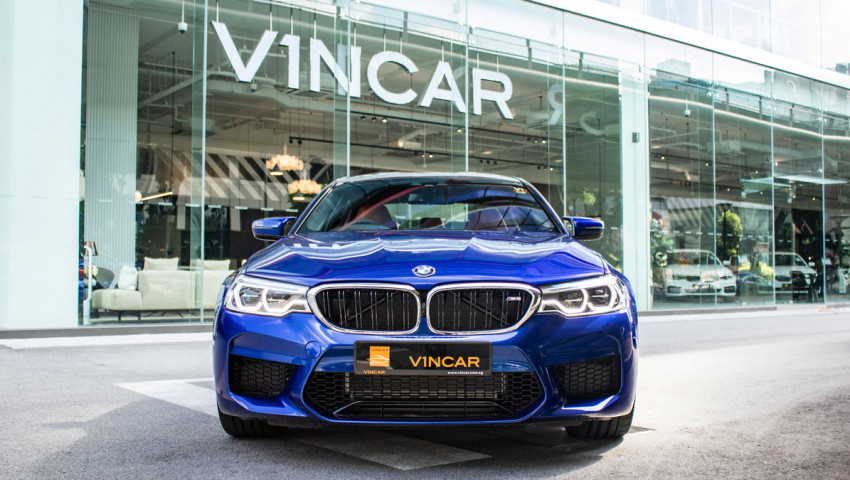 BMW M5 Saloon Competition - Direct Front